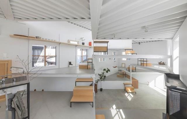 Ngôi nhà 13 tầng không phòng, không vách ngăn tại Nhật Bản - Ảnh 9.