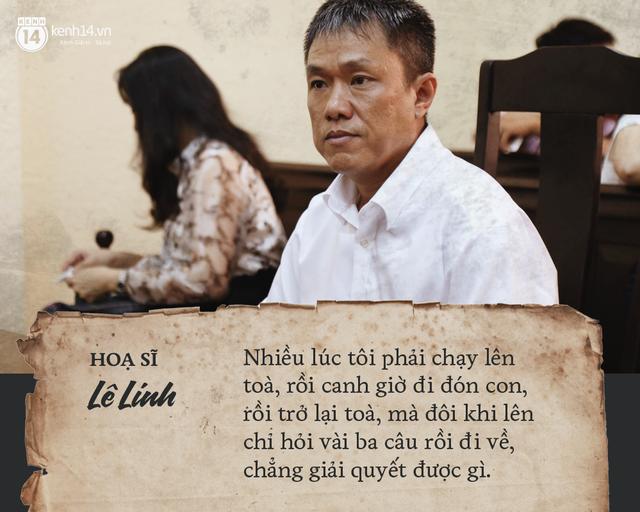 Họa sĩ Lê Linh chia sẻ sau khi thắng kiện vụ Thần đồng đất Việt: Tôi không thấy vui, chỉ thấy nhẹ lòng - Ảnh 2.