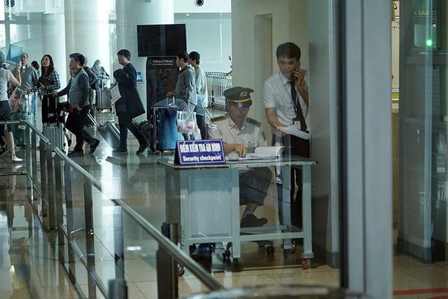 Bên trong khu an ninh sân bay Nội Bài trước thượng đỉnh Mỹ - Triều - Ảnh 2.