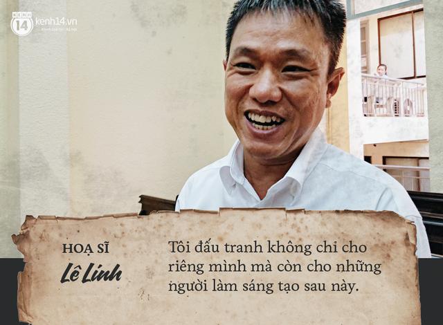 Họa sĩ Lê Linh chia sẻ sau khi thắng kiện vụ Thần đồng đất Việt: Tôi không thấy vui, chỉ thấy nhẹ lòng - Ảnh 3.