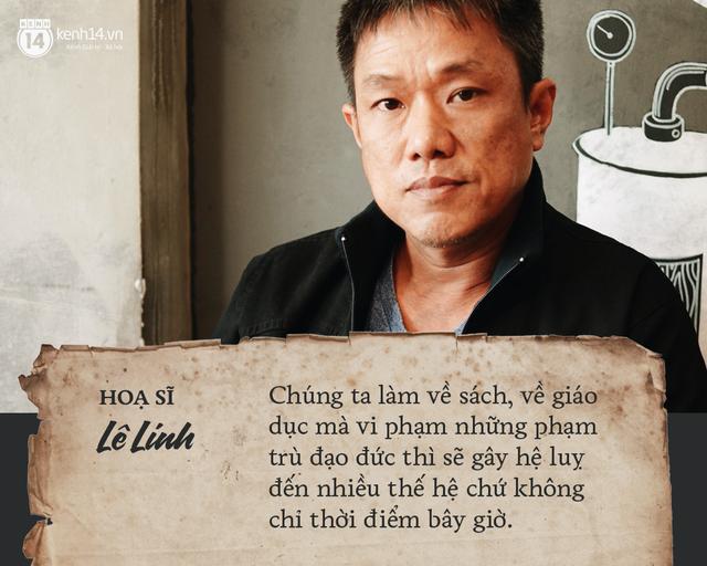 Họa sĩ Lê Linh chia sẻ sau khi thắng kiện vụ Thần đồng đất Việt: Tôi không thấy vui, chỉ thấy nhẹ lòng - Ảnh 4.