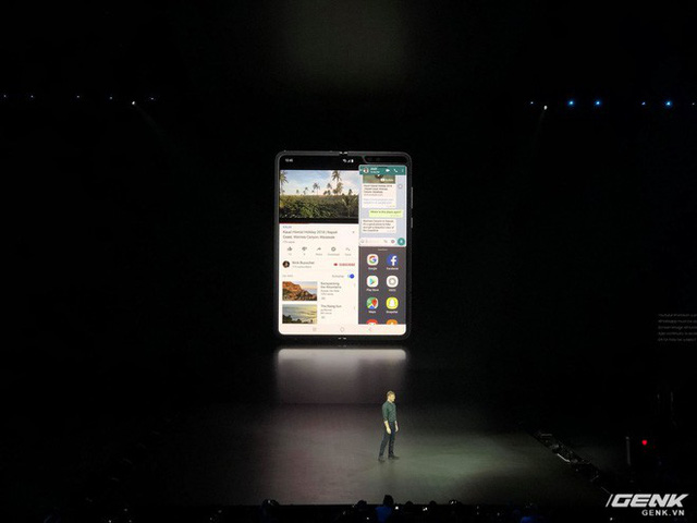 Smartphone màn hình gập Samsung Galaxy Fold chính thức ra mắt: Giá 1980 USD, màn hình 4.6 inch gập mở thành 7.3 inch, RAM 12GB, 6 camera, bộ nhớ trong 512GB UFS 3.0 - Ảnh 5.