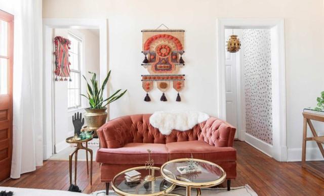 Bài trí căn hộ nhỏ cho cô nàng yêu thích màu hồng - Ảnh 5.