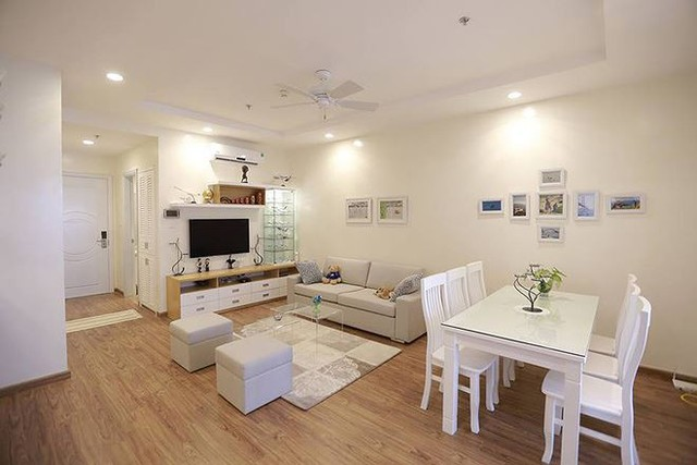 Mẫu nhà 1 tỷ đồng với nội thất trắng tinh khôi, nhìn là mê - Ảnh 1.