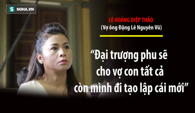 Bà Lê Hoàng Diệp Thảo: Thẩm phán có chắc việc anh Vũ không tiếp tục đưa người đàn bà khác về nhà? - Ảnh 13.