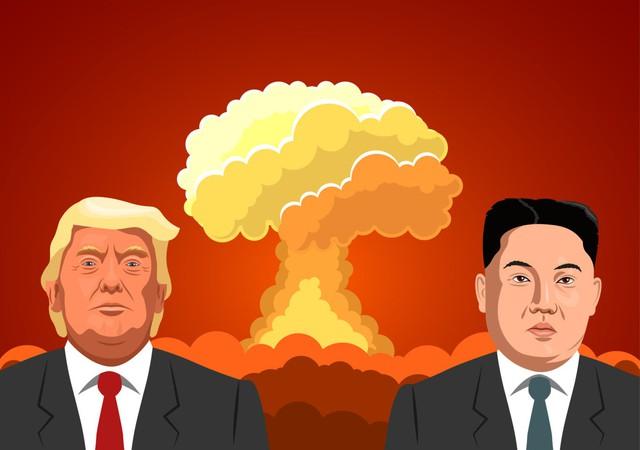 """Con đường từ kẻ thù tới tuyên bố """"phải lòng nhau"""" của Donald Trump và Kim Jong Un - Ảnh 2."""