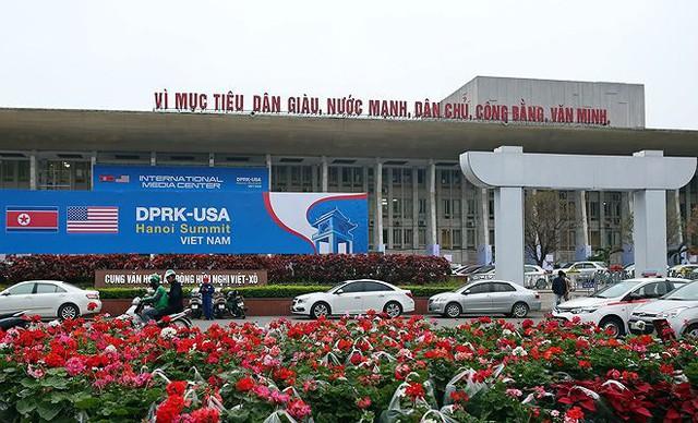Trung tâm báo chí hoàn thiện trước thềm Hội nghị thượng đỉnh Mỹ-Triều - Ảnh 1.