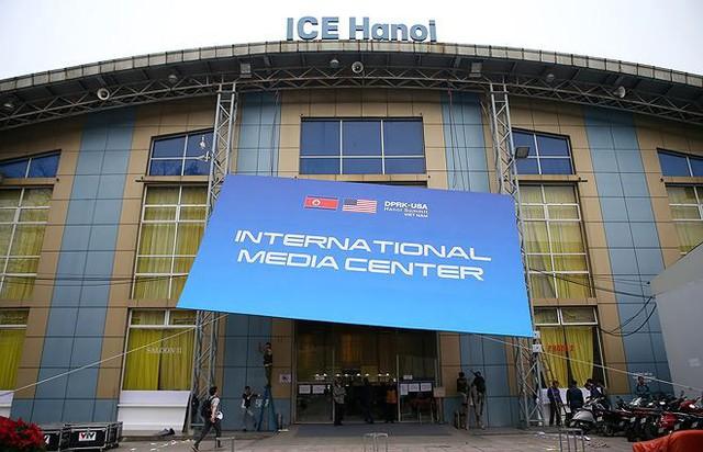 Trung tâm báo chí hoàn thiện trước thềm Hội nghị thượng đỉnh Mỹ-Triều - Ảnh 2.