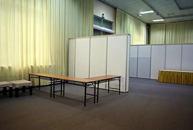 Trung tâm báo chí hoàn thiện trước thềm Hội nghị thượng đỉnh Mỹ-Triều - Ảnh 12.
