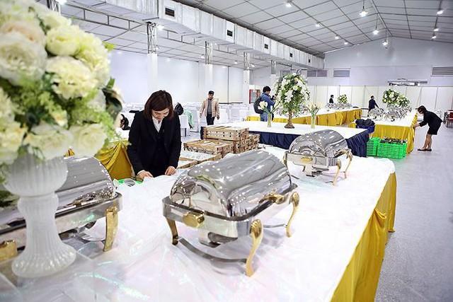 Trung tâm báo chí hoàn thiện trước thềm Hội nghị thượng đỉnh Mỹ-Triều - Ảnh 19.