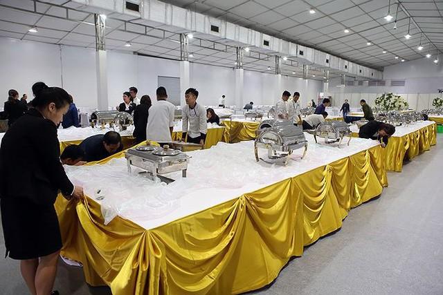 Trung tâm báo chí hoàn thiện trước thềm Hội nghị thượng đỉnh Mỹ-Triều - Ảnh 20.