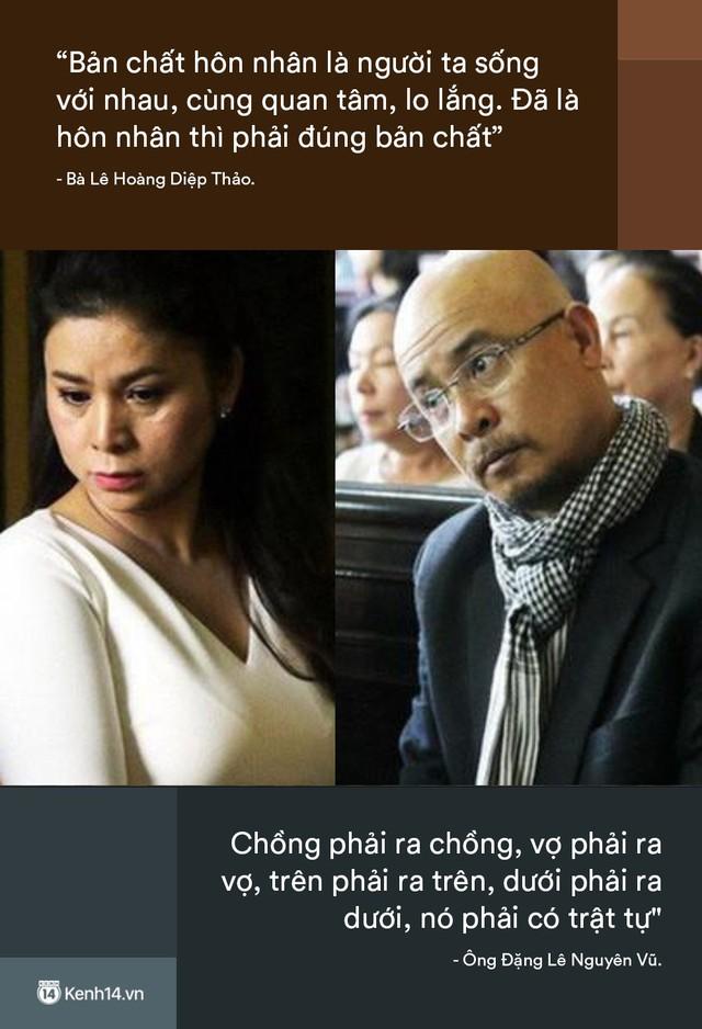 Nhìn lại những lời phản pháo gây bão của vợ chồng vua cà phê Trung Nguyên tại phiên tòa ly hôn - Ảnh 3.