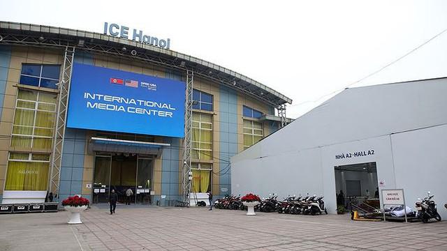 Trung tâm báo chí hoàn thiện trước thềm Hội nghị thượng đỉnh Mỹ-Triều - Ảnh 3.