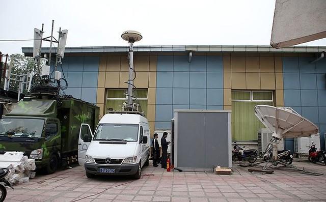 Trung tâm báo chí hoàn thiện trước thềm Hội nghị thượng đỉnh Mỹ-Triều - Ảnh 21.