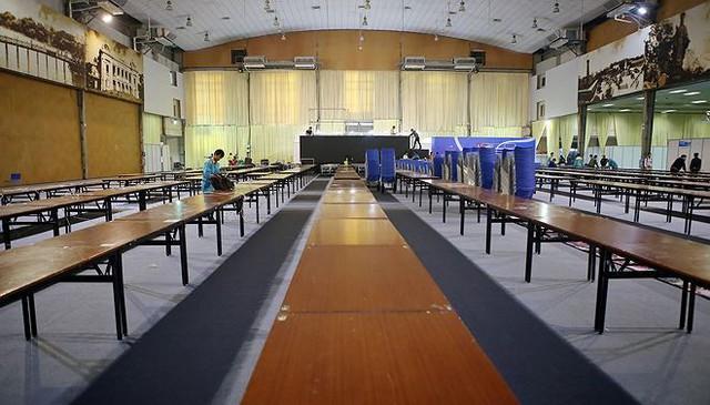 Trung tâm báo chí hoàn thiện trước thềm Hội nghị thượng đỉnh Mỹ-Triều - Ảnh 5.