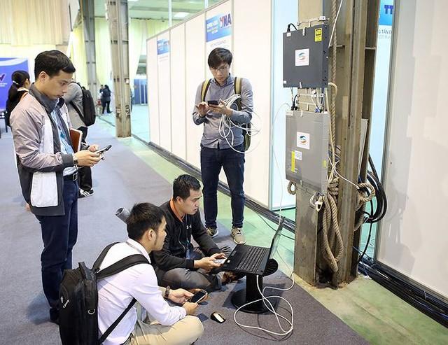 Trung tâm báo chí hoàn thiện trước thềm Hội nghị thượng đỉnh Mỹ-Triều - Ảnh 6.
