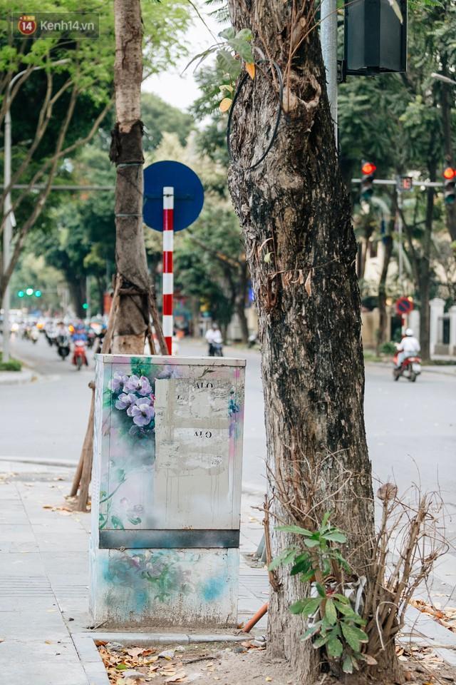 Chuyện buồn về những tủ điện sắc màu ở Hà Nội bị bôi bẩn: Chúng tôi mất 4 ngày tô vẽ, những người khác chỉ mất 3 giây để làm nó lem luốc - Ảnh 8.
