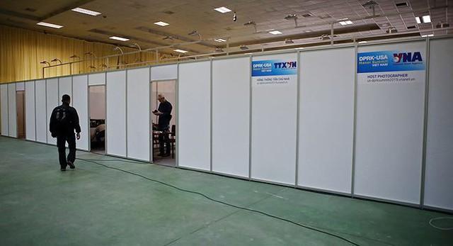 Trung tâm báo chí hoàn thiện trước thềm Hội nghị thượng đỉnh Mỹ-Triều - Ảnh 8.