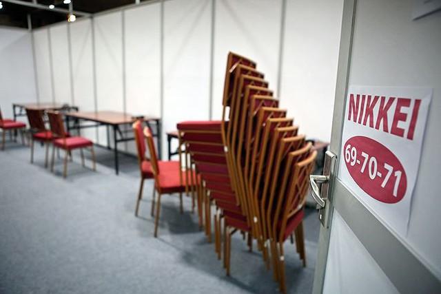 Trung tâm báo chí hoàn thiện trước thềm Hội nghị thượng đỉnh Mỹ-Triều - Ảnh 9.