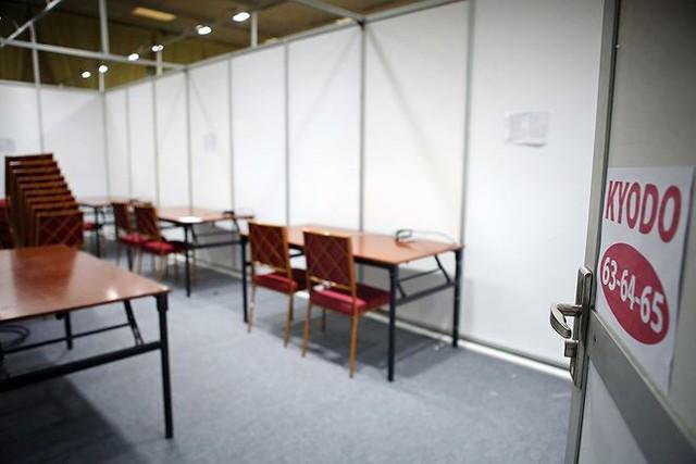 Trung tâm báo chí hoàn thiện trước thềm Hội nghị thượng đỉnh Mỹ-Triều - Ảnh 10.