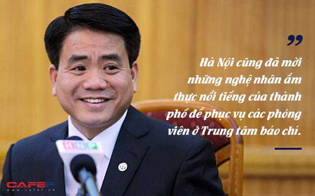 Chủ tịch Hà Nội Nguyễn Đức Chung: Mang đặc sản thủ đô tiếp đãi phóng viên đưa tin Hội nghị Thượng đỉnh Mỹ - Triều - Ảnh 1.
