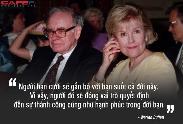 """Lời khuyên """"đúng đến giật mình"""" của Warren Buffett: """"Thành công hay không là do người bạn đời quyết định, mơ vinh hoa phú quý làm gì khi chẳng có ai để sẻ chia?"""" - Ảnh 2."""