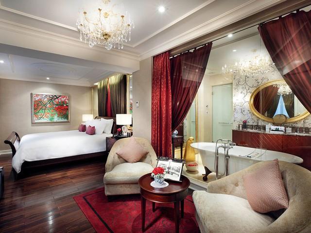 Có gì đặc biệt bên trong phòng Tổng thống ở các khách sạn siêu sang Hà Nội - Ảnh 13.