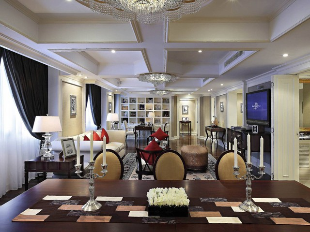Có gì đặc biệt bên trong phòng Tổng thống ở các khách sạn siêu sang Hà Nội - Ảnh 11.