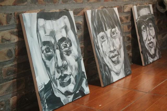 Thiết kế đặc biệt của quán cà phê Hà Nội ngập tràn tranh chân dung ông Donald Trump và ông Kim Jong Un - Ảnh 13.