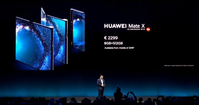 Huawei ra mắt smartphone màn hình gập 5G Mate X: mỏng hơn cả iPad Pro, sạc nhanh gấp 6 lần iPhone XS Max, giá 2.300 euro - Ảnh 4.