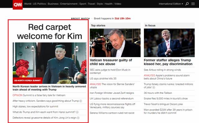 Báo chí quốc tế rầm rộ đưa tin về thượng đỉnh Mỹ - Triều diễn ra tại Hà Nội - Ảnh 1.