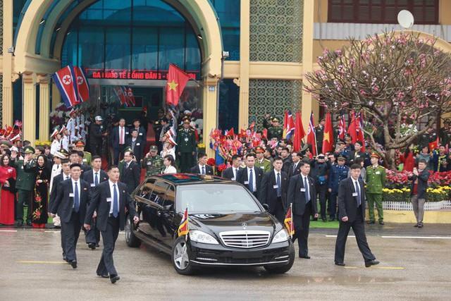 [ẢNH] Toàn cảnh buổi tiếp đón nhà lãnh đạo Triều Tiên Kim Jong Un tại ga Đồng Đăng - Ảnh 14.