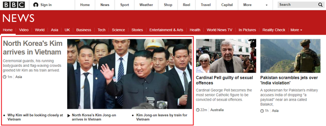 Báo chí quốc tế rầm rộ đưa tin về thượng đỉnh Mỹ - Triều diễn ra tại Hà Nội - Ảnh 3.