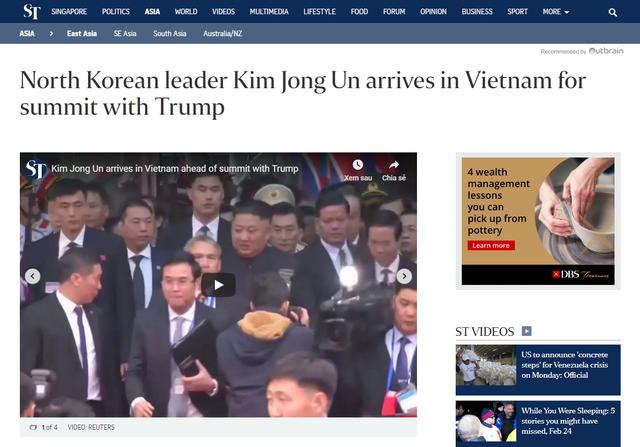 Báo chí quốc tế rầm rộ đưa tin về thượng đỉnh Mỹ - Triều diễn ra tại Hà Nội - Ảnh 6.