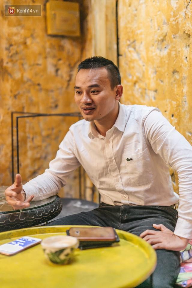 Chuyện chàng trai lớn lên từ ngôi làng ung thư quyết tâm tạo một quán cafe từ hàng nghìn đồ tái chế giữa phố cổ Hà Nội - Ảnh 8.