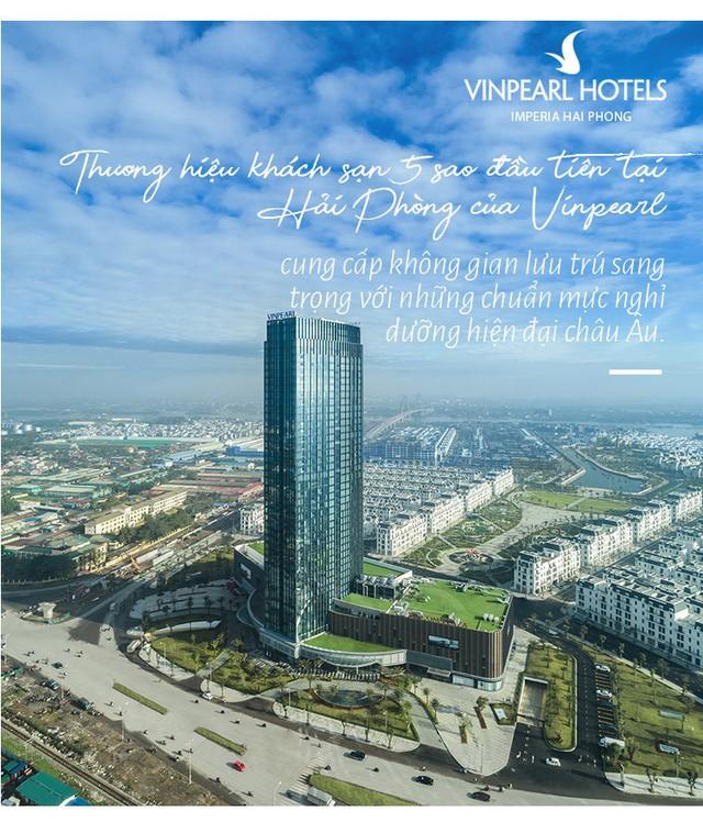 """Vinpearl Hotel Imperia Hải Phòng - Trải nghiệm thượng lưu tại """"ngọn hải đăng"""" mới của thành phố Cảng - Ảnh 4."""