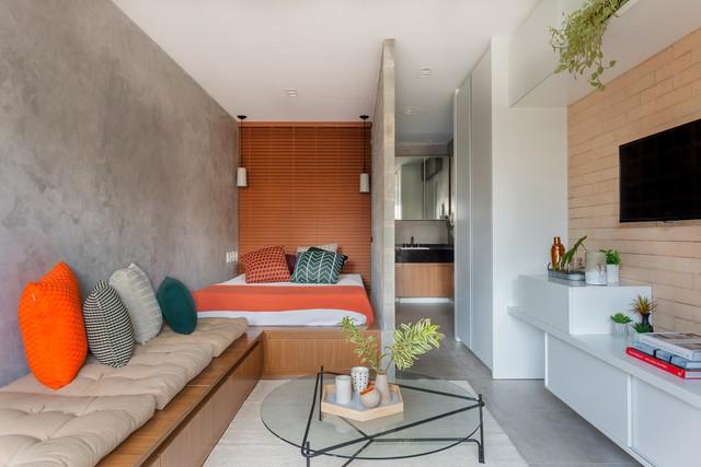 Căn hộ 27 m2 dù nhỏ vẫn đầy đủ tiện nghi và không gian riêng tư - Ảnh 1.