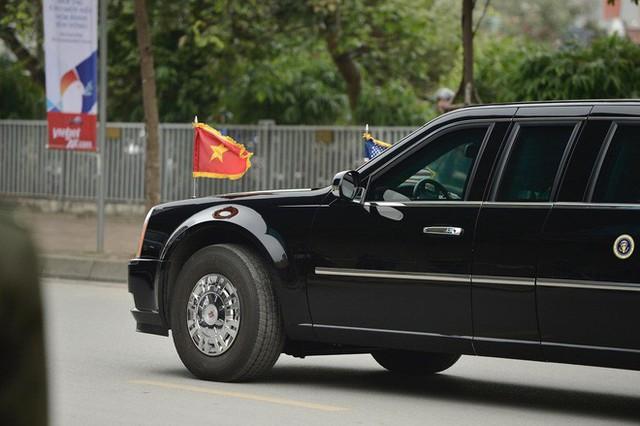 [NÓNG] Tổng thống Trump đã tới Phủ Chủ tịch để tham gia hội đàm cùng Tổng Bí thư, Chủ tịch nước Nguyễn Phú Trọng - Ảnh 10.