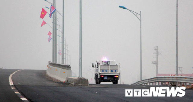 Ảnh: Quảng Ninh thắt chặt an ninh chào đón đoàn Triều Tiên thăm vịnh Hạ Long - Ảnh 4.