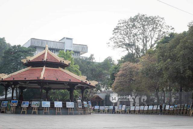Nhiều tuyến phố Hà Nội vắng lặng, yên bình trước giờ diễn ra cuộc gặp thượng đỉnh giữa Tổng thống Donald Trump và Chủ tịch Kim Jong Un - Ảnh 7.
