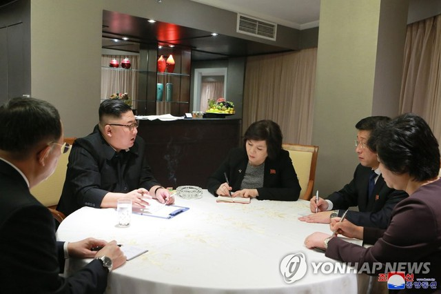 Báo Hàn: Vừa tới Hà Nội, ông Kim Jong-un nhanh chóng họp với các phụ tá về hội nghị thượng đỉnh - Ảnh 1.