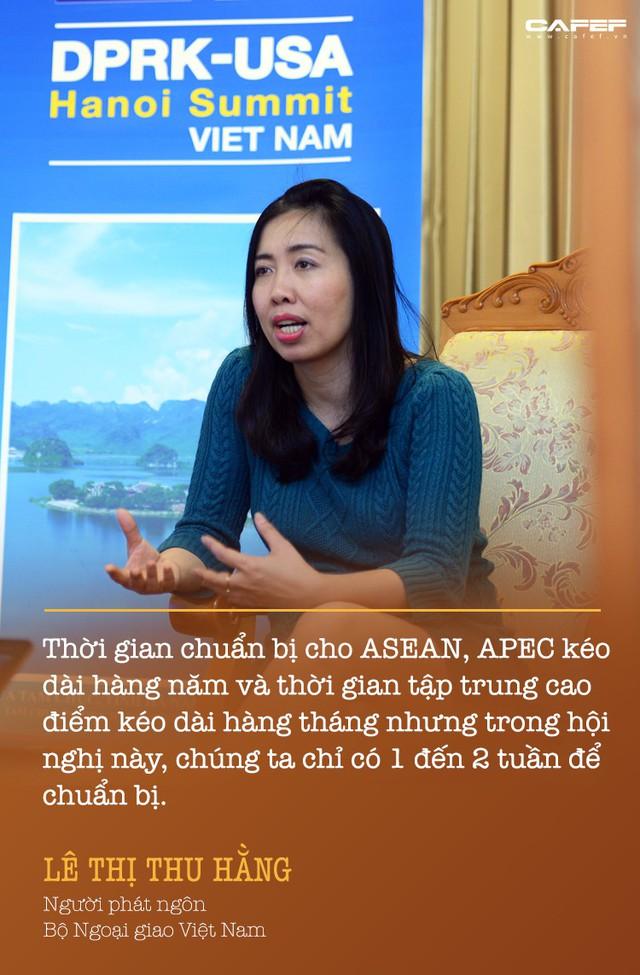 Người phát ngôn Bộ Ngoại giao kể chuyện hậu trường 10 ngày chuẩn bị cho Hội nghị Thượng đỉnh Mỹ - Triều - Ảnh 1.