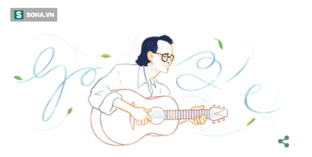 Google 28/2 vinh danh Trịnh Công Sơn: Nhạc sĩ được yêu mến nhất tại Việt Nam - Ảnh 1.