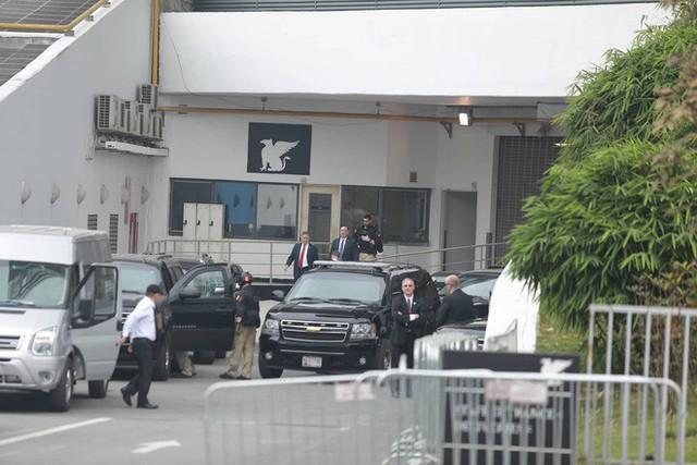 Kết thúc họp báo, TT Donald Trump nhanh chóng ra sân bay về nước ngay trong chiều nay - Ảnh 9.