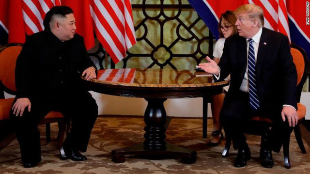 Cập nhật: Ông Trump và ông Kim Jong Un sẽ ký thỏa thuận chung lúc 14h chiều - Ảnh 1.