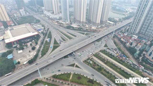 Ảnh: Những nút giao hiện đại làm thay đổi diện mạo Thủ đô nhìn từ flycam - Ảnh 5.