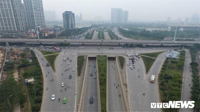 Ảnh: Những nút giao hiện đại làm thay đổi diện mạo Thủ đô nhìn từ flycam - Ảnh 6.