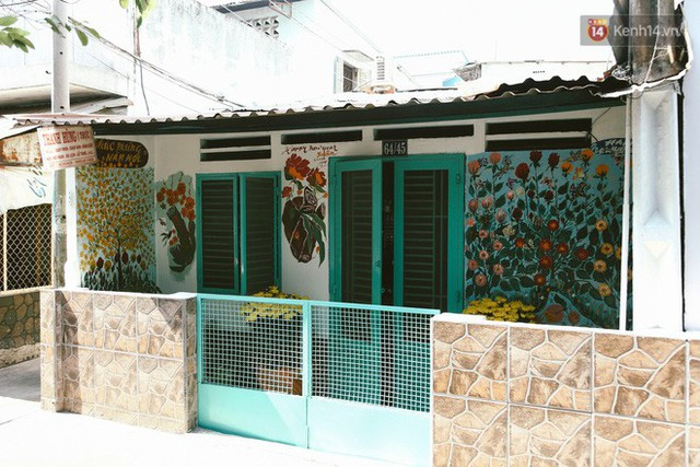 Ông giáo về hưu mang đến những bức tranh mùa xuân mới trong con hẻm nhỏ bình dị ở Sài Gòn - Ảnh 5.
