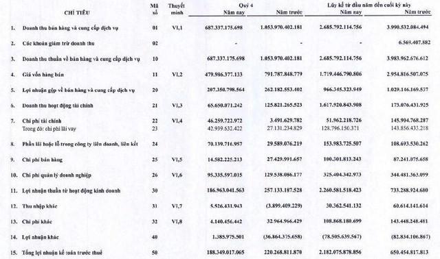 Ghi nhận lợi nhuận từ bán con, Gemadept bão lãi kỷ lục 1.900 tỷ đồng trong năm 2018 - Ảnh 1.