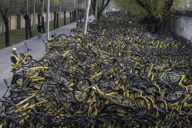 Sự trỗi dậy và sụp đổ của hàng loạt 'đế chế' cho thuê xe đạp tại Trung Quốc - Ảnh 1.